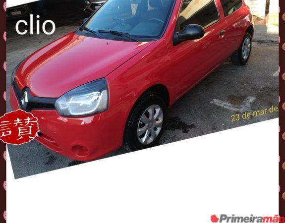 Clio Flex 2013 Com Ar Condicionado!