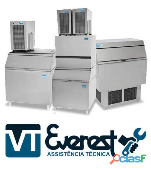 Everest Assistência especializada em máquinas de gelo cubo