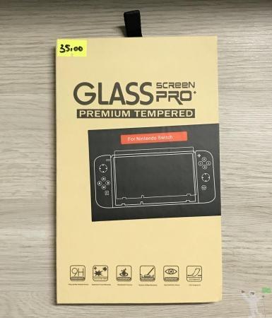 Pelicula de Vidro Temperado para Nintendo Switch