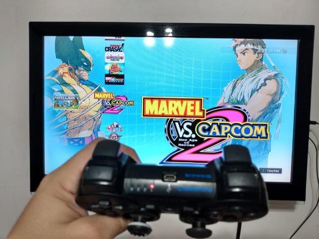 Playstation 3 Slim, 32 Jogos, Controle Original, Hdmi,