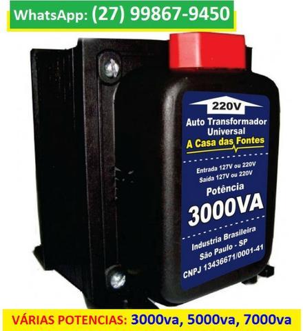 Transformador De Voltagem Bivolt 110v E 220v va, Novos