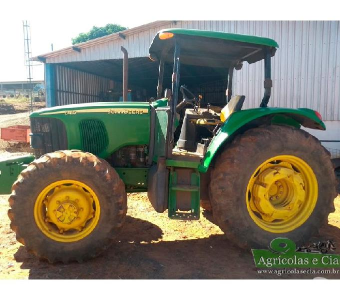 Trator John Deere 6415 4x4 (4.500 Horas - Power Quad!)