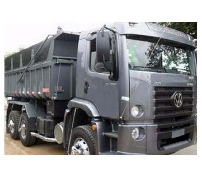 Vw Constellation 24280 Truck Caçamba 12 mts Randon 2018
