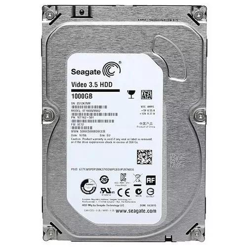 Hd 1tb Seagate Video 5900rpm Sata Dvr Cftv Novo Garantia
