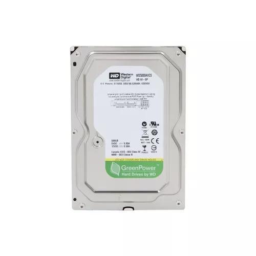 Hd 3.5 Western Digital Green 500gb Sata 3 Novo Com Garantia