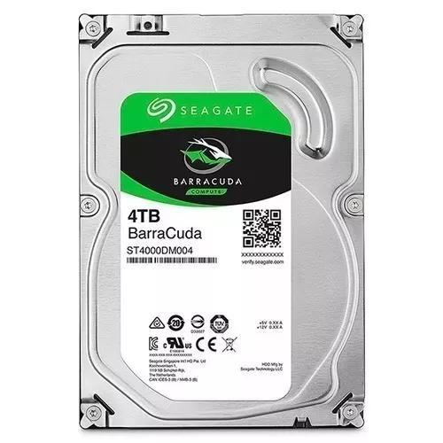 Hd 4 Tera Desktop 4tb Seagate Dvr Sata 6,0gb/s Novo Lacrado
