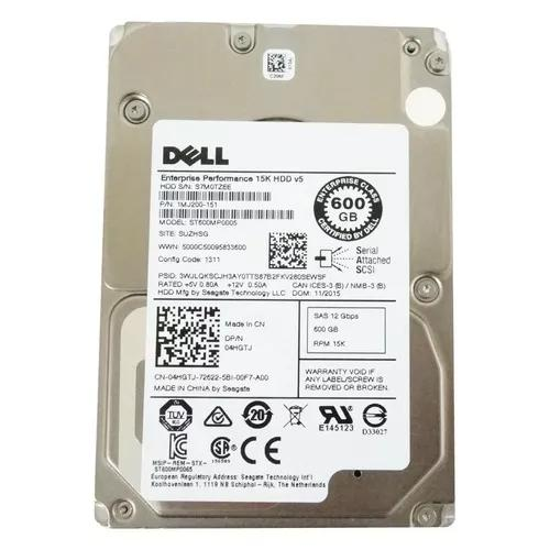 Hd Dell Sas 600gb 15k 2.5 12gbs 1mj200-151 St600mp0005 Nfe