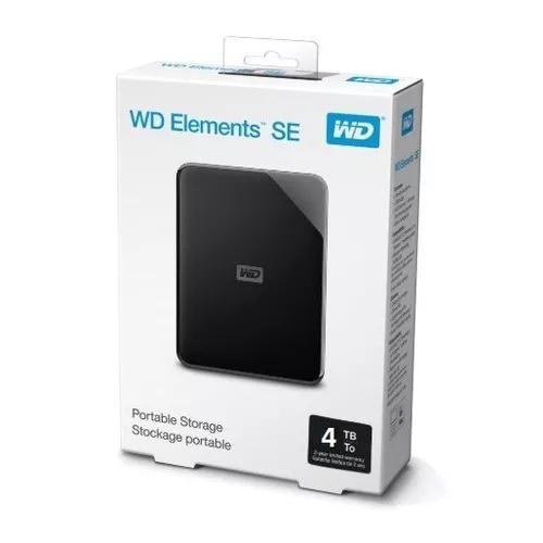 Hd Externo 4tb De Bolso Western Digital Wd Usb 3.0 Usb 2.0