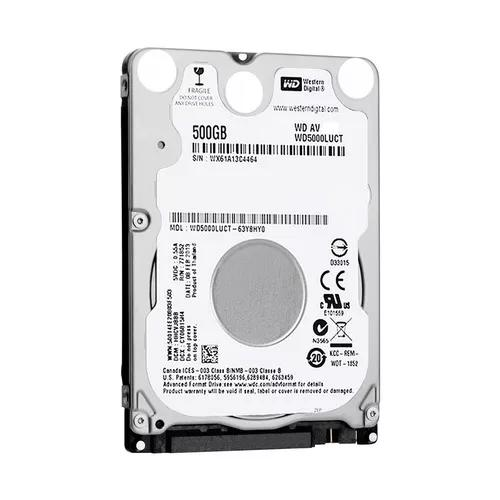 Hd Notebook 500gb Sata Wester Digital