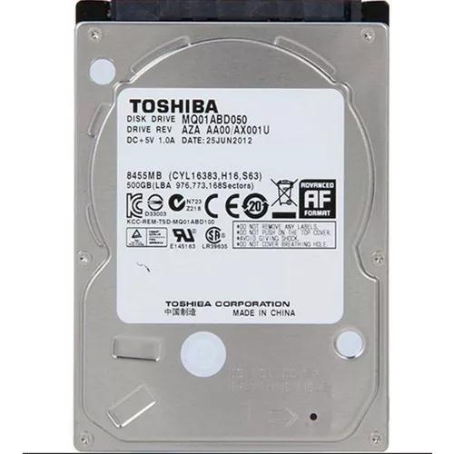 Hd Notebook 500gb Toshiba Sata Novo Lacrado Promoçao