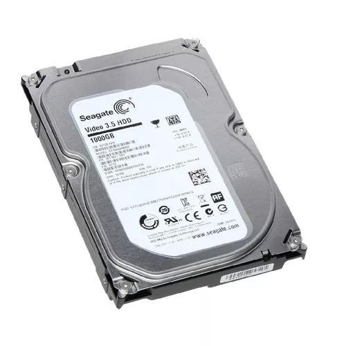 Hd Seagate 1tb P/ Desktops E Dvr Novo Nota Fiscal + Garantia