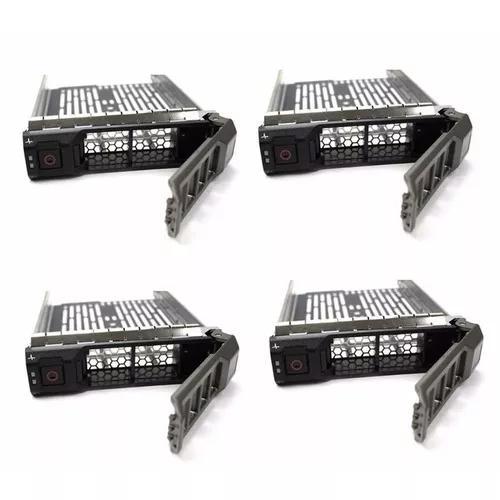 Kit 4 Gavetas Dell 3.5 Sas Sata F238f R710 T330 R530 T330