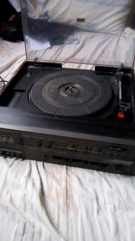 Radio e toca disco