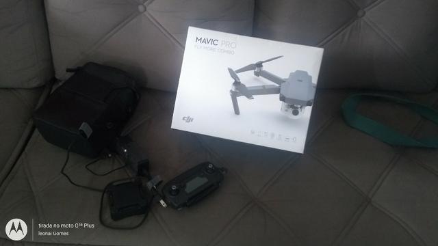 Drone Mavic pro Fly more combo completo 3 baterias