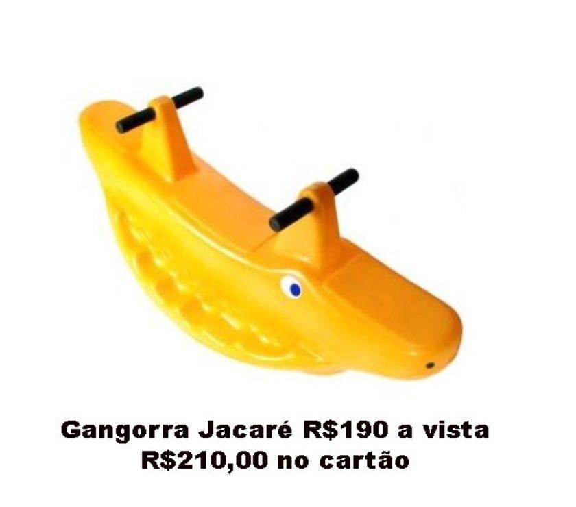 Gangorras a partir de R$130 a vista
