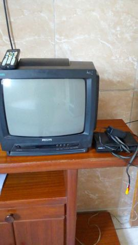 TV Philips 14 pol** conversor