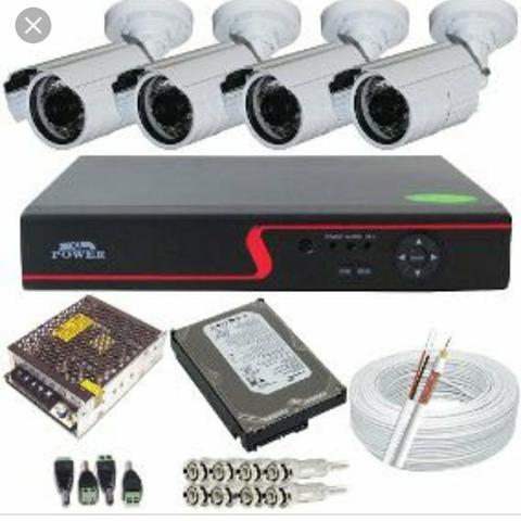 Kit cameras de segurança