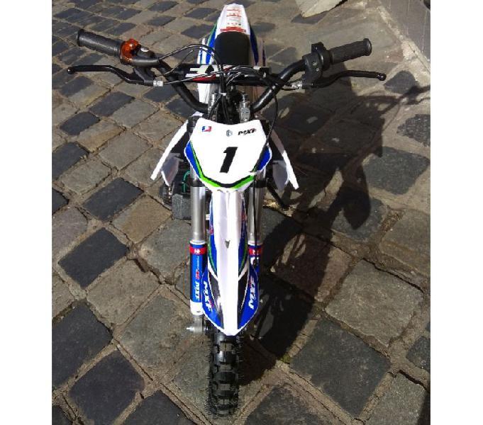 Mini Moto Cross Mxf 49cc Ferinha Partida Eletrica