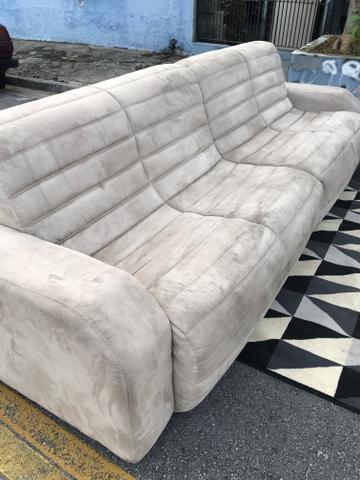 Sofá para sala de estar 4 lugares bipartido