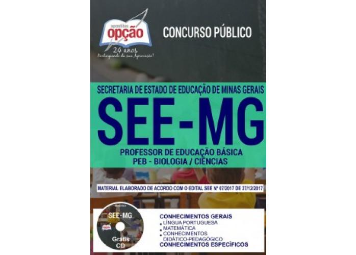Apostila SEE-MG  Professor de Biologia / Ciências