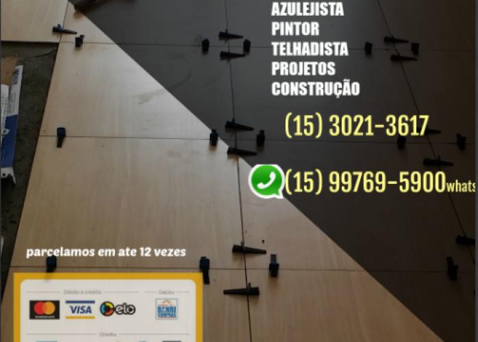 INSTALAÇÃO DE PISOS E PORCELANATOS WHATSAPP AZULEJISTA