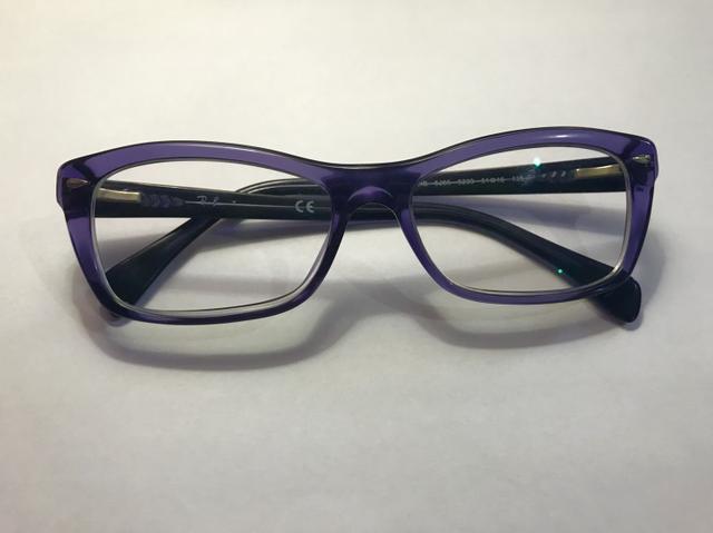 Óculos de Grau Ray-Ban Roxo