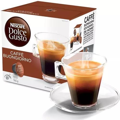 Kit 3 Caixas Nescafé Dolce Gusto Café Matinal 48 Cápsulas