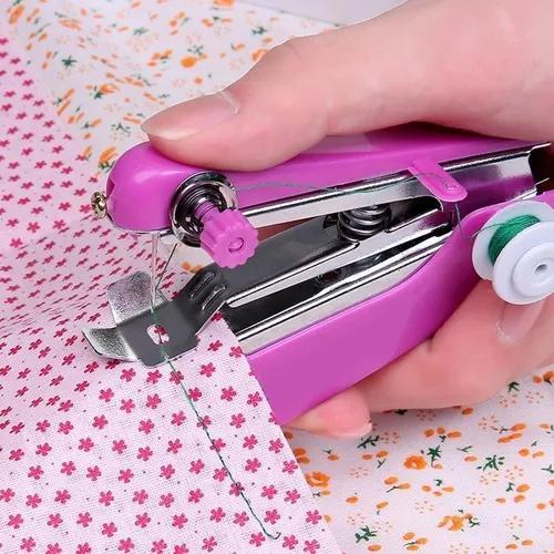 Mini Maquina De Costura Manual Portátil De Mão