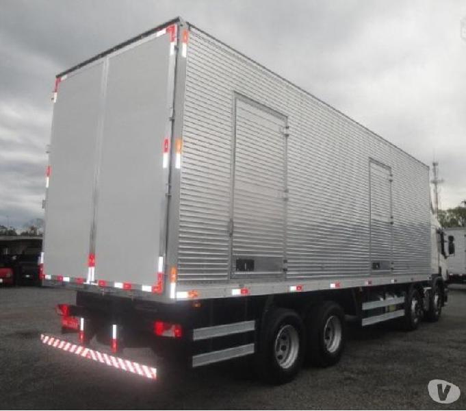 scania p310 bitruck automático completo com bau 201818 0km