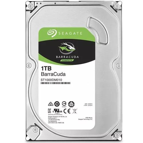 Hd 1tb (1000gb) Seagate Sata 6gbs 7200.12rpm P/desktop/dvr