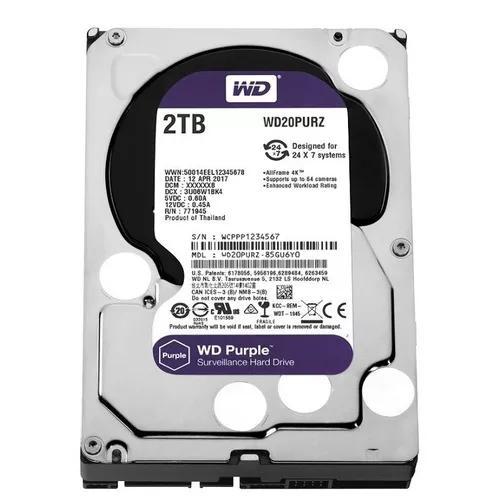 Hd 2tb Purple Western Digital Dvr Wd20purz Intelbras
