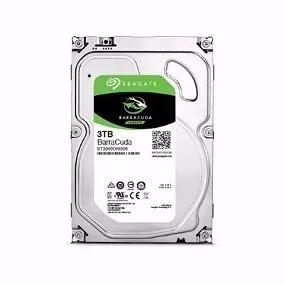 Hd 3tb Seagate Barracuda 3000gb 64mb Sata 3 6gb/s Pc 5400rpm