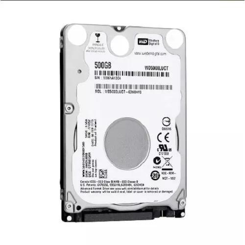 Hd Notebook Western Digital 500gb Sata 3gb/s Wd5000luct
