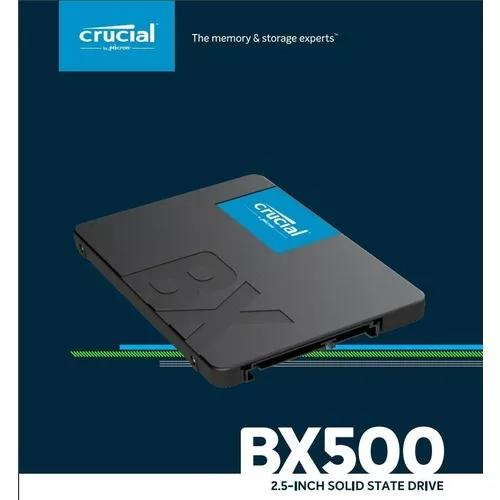 Hd Ssd De 240gb Crucial 2.5 Bx500 - Ct240bx500ssd1 Curitiba