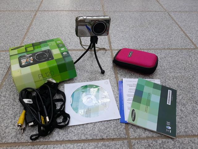 Máquina Fotográfica Samsung (Completa)