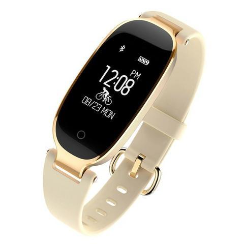 Relógio Inteligente Fitness com Sensor de Pressão e