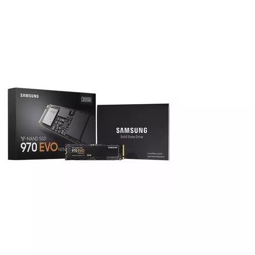 Ssd M2 Samsung 250 Gb 970 Evo Lacrado Orig Ultimas Peças