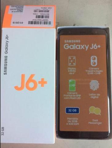 """Samsung J6+ plus Tela 6"""" infinita com 3gb Ram 32gb rom"""