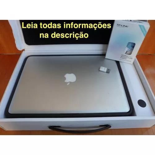 Apple Macbook Pro Intel Core 2 Duo Pleno Uso Mid 2010 Na Cx