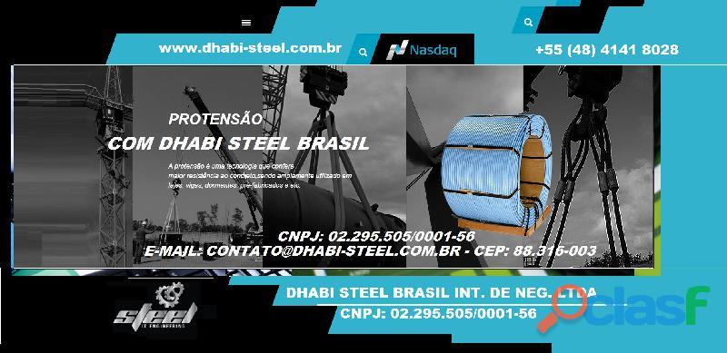 Cordoalhas de Aço com a Dhabi Steel