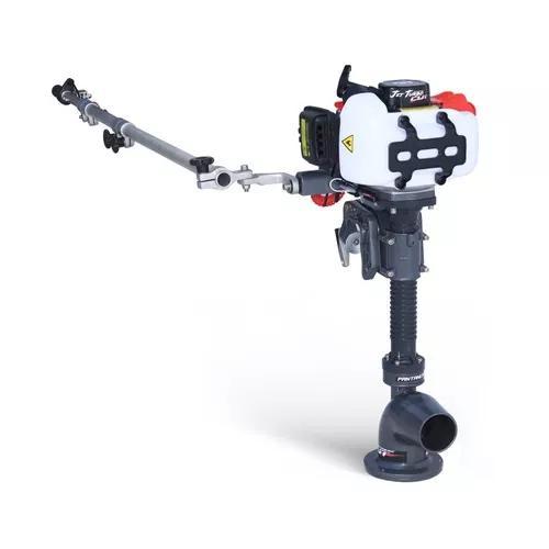 Motor Jet Turbo Cut Pantaneiro 3hp + Haste Acelerador R