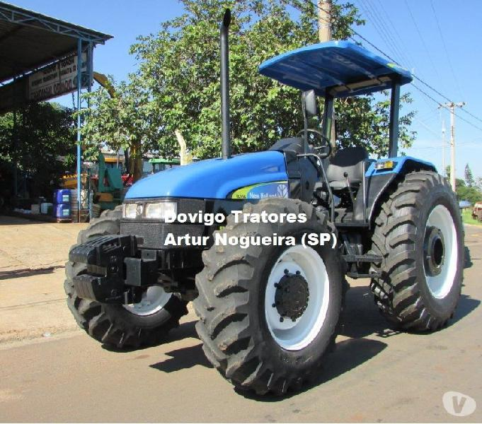 New Holland TL95E 44X Ano:2008 motor mwm !!