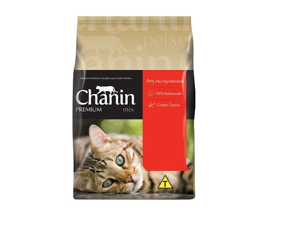 Ração para Gatos Chanin 25 kg