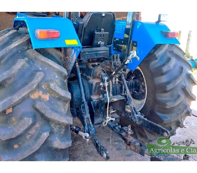 Trator New Holland 7630 4x4 (Lamina e Concha Tatu - 340 H!)