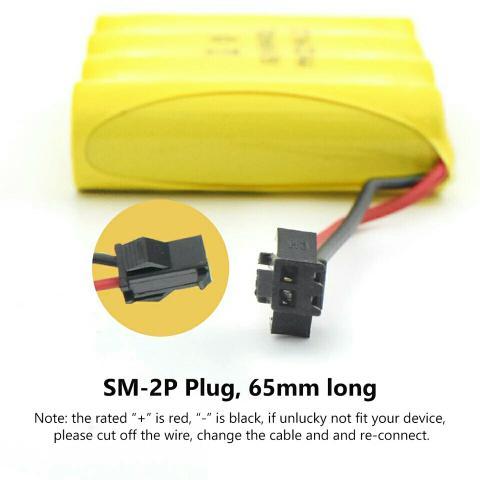 Bateria para carrinho controle remoto 4,8v 700mah