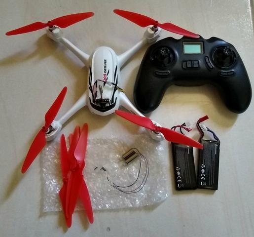 Drone hubsam 502e com GPS. novíssimo