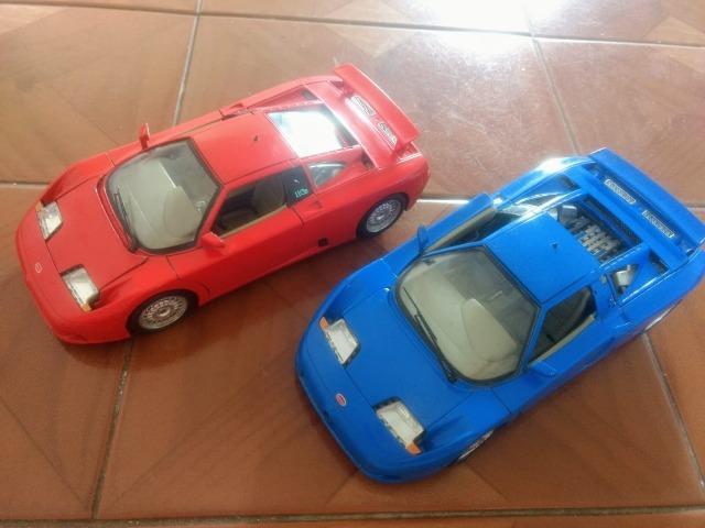 Miniaturas Bugatti  Made in Italia