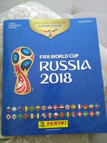 Álbum da Copa da Rússia  completo + Kit atualização