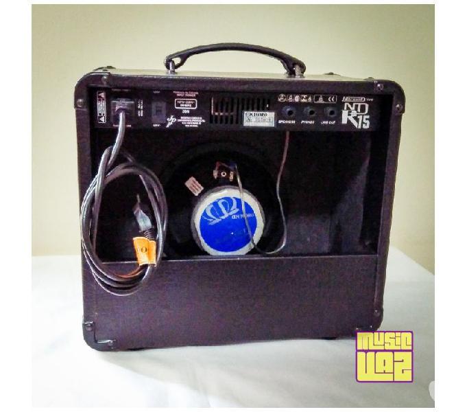 Amplificador Cubo Guitarra Meteoro Nitrous Drive NDR 15 15W