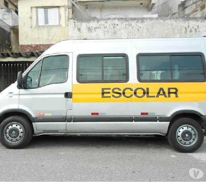 Renault Master escolar 2008 com linha em São Bernardo